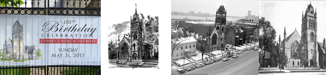 History of Christ Church Detroit